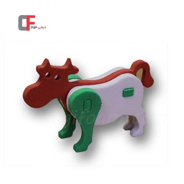پازل سه بعدی گاو