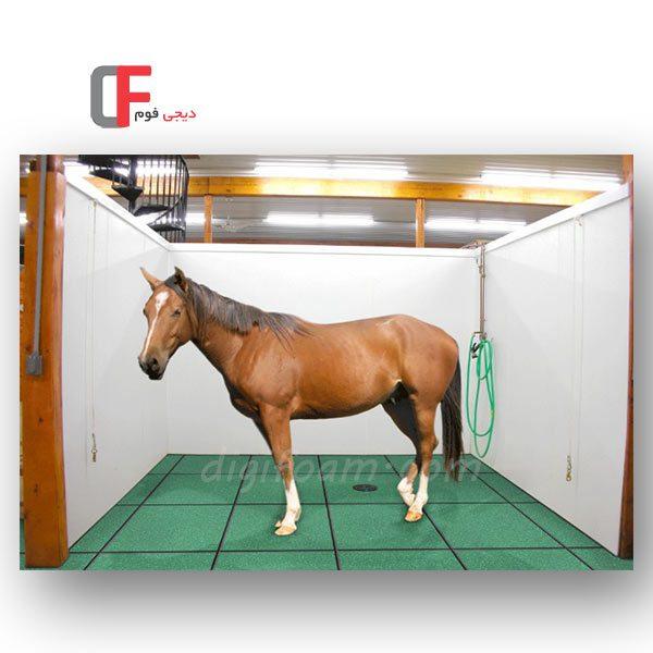 کفپوش اصطبل اسب